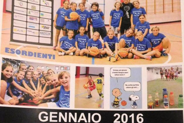 Atleti Calendario.Gli Atleti Del Belvedere Basket Sul Calendario Del 2016 Trento