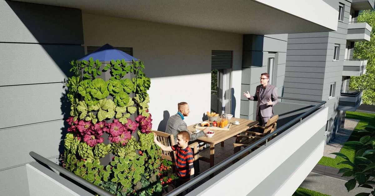 In commercio l 39 orto verticale prodotto in trentino for Giardino verticale balcone
