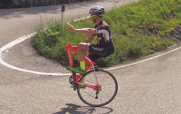 In Salita Senza Ruota Forcella E Manubrio Sport Trentino