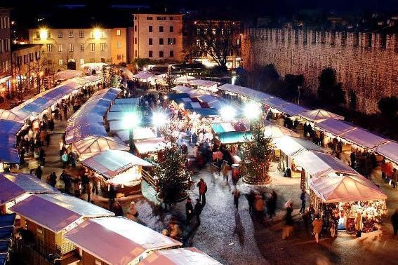 Mercatini Natale Trento.Trento Mercatino Di Natale Aperto Dal 24 Novembre Al 6