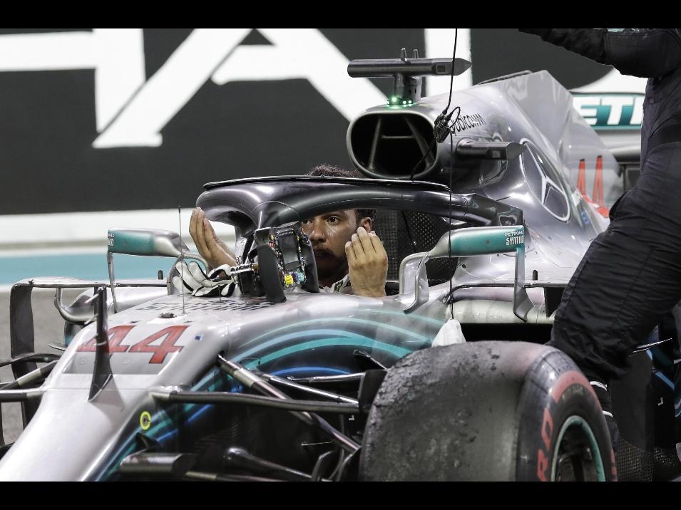 GP Abu Dhabi - Hamilton: