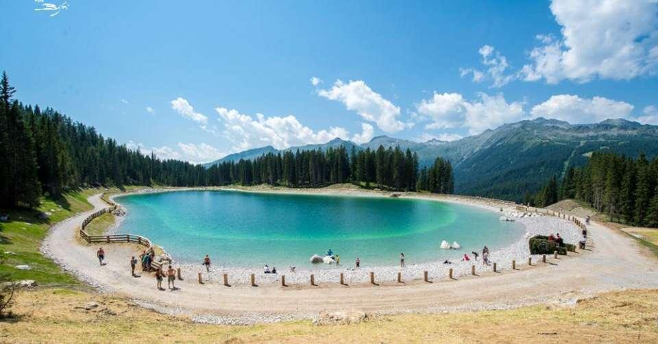 montagnoli il nuovo lago artificiale che sembra vero