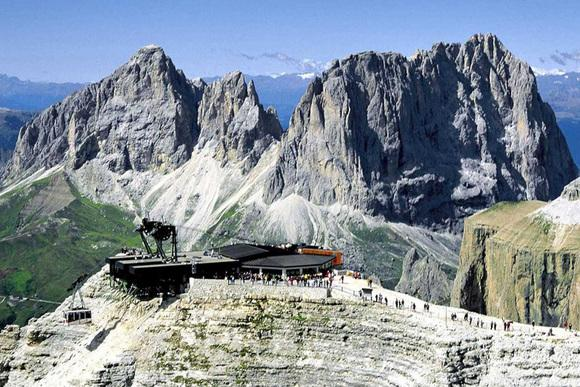 Sass Pordoi La Funivia Compie 50 Anni Trento Trentino